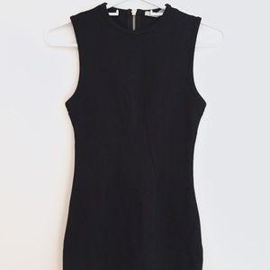 T by Alexander wang bodycon dress xs